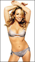 Mariah Carey gives out kisses with her underwear | The ... мэрайя кэри