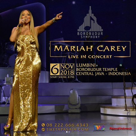 Despite travel warnings, Mariah to perform in Indonesia | mcarchives.com