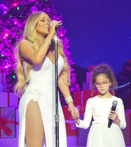 Mariah Carey stuns at Brussels concert | mcarchives.com