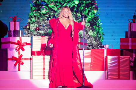 Mariah's Christmas climbs to No. 3 on Billboard Hot 100 | mcarchives.com