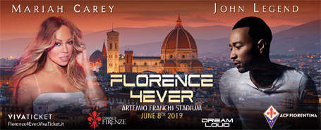 Mariah Carey and John Legend to headline Florence4Ever  | mcarchives.com