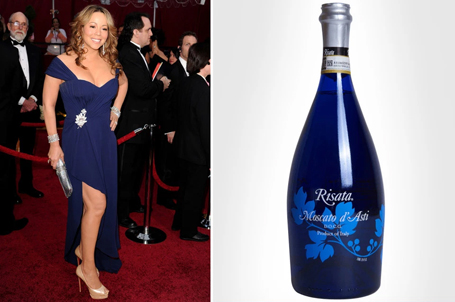Man compares Mariah's outfits to Champagne bottles | mcarchives.com