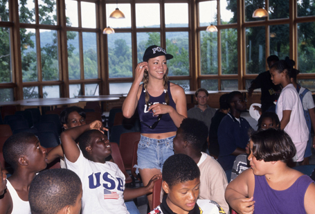 Mariah Carey celebrates 25 years of her summer camp | mcarchives.com