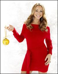 Mariah Carey Christmas Album Cover.Mariah Carey Readies New Christmas Albums