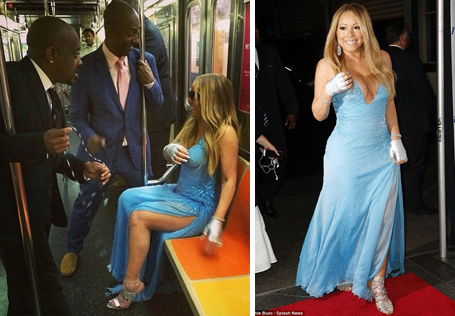 Her most amazing places to pose instagram pics | The ... Mariah Carey Instagram