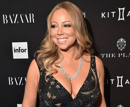 Mariah Carey says, All things are possible with God | mcarchives.com